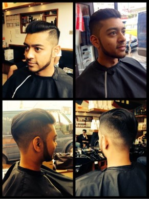 Barbering@Franco's in Bristol delivers expert Disconnection haircut for men