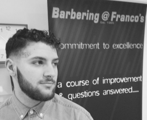 Luca Lombardi at Barbering@Francos