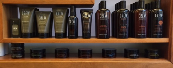 American Crew hair products for men from Gloucester Road-based Bristol men's hairdressing salon Barbering@Franco's