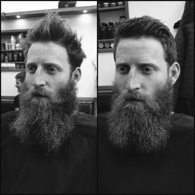 Beard Grooming in Bristol from Gloucester Road-based men's hairdressing salon Barbering@Franco's