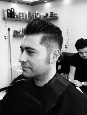 Classic 1950s haircut for men in Bristol from Barbering@Franco's