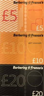 Christmas gifts for men from Bristol men's hairdressers Barbering@Franco's