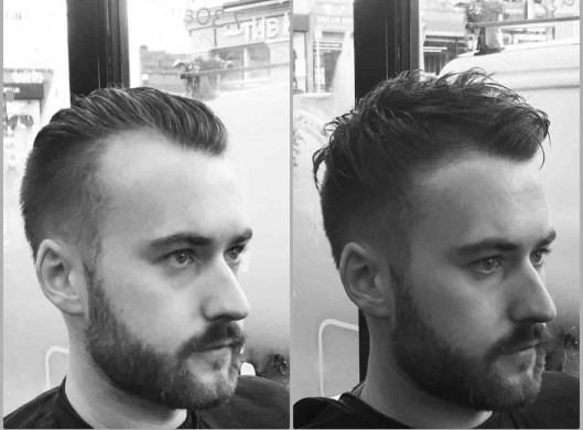 men's hair restyling in bristol from barbering at francos