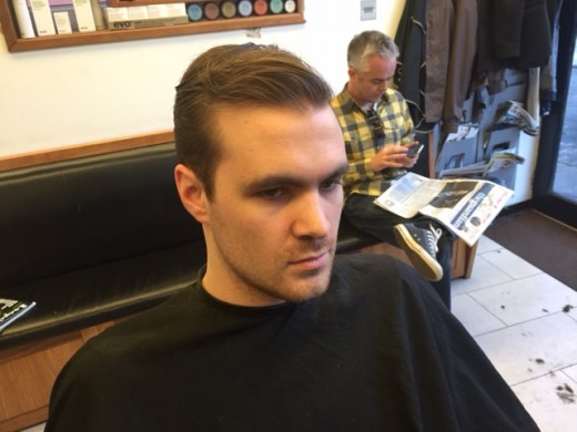 hair restyling for men in Bristol from leading men's hairdressers Barbering@Franco's