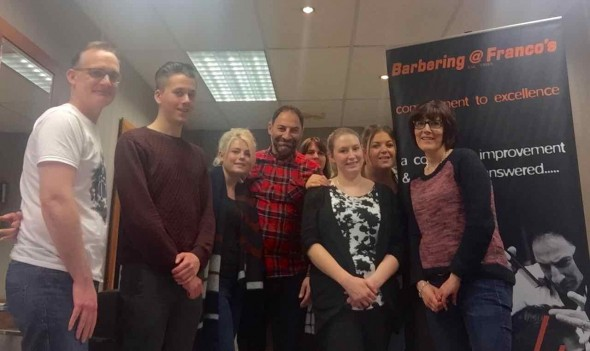 barbering training in Bristol from Barbering@Franco's