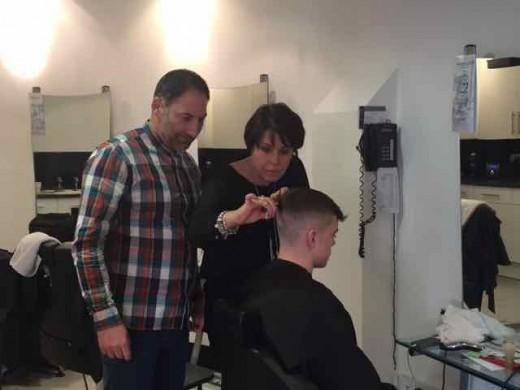men's hairdressing in Bristol from Barbering@Franco's