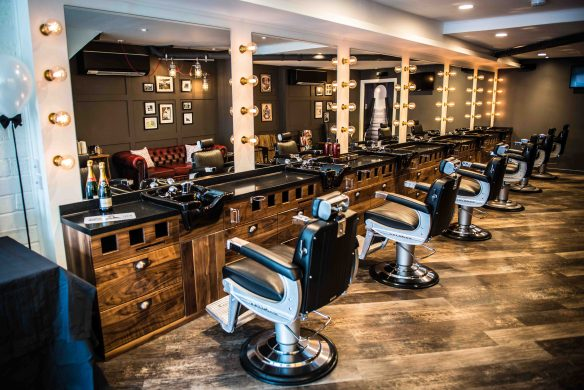 New men's hairdressing salon in Bristol Franco's Barbering Lounge