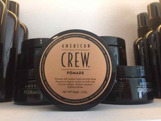 American Crew Pomade men's hair products in Bristol at Franco's Barbering Lounge