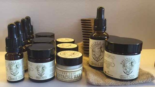 Mariner Jack beard care products for men in Bristol from Franco's Barbering Lounge