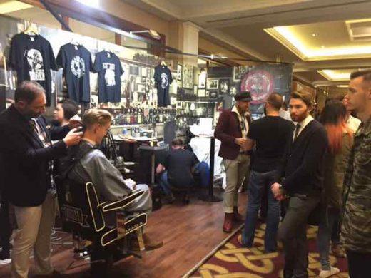 Bristol barber Franco Lombardi