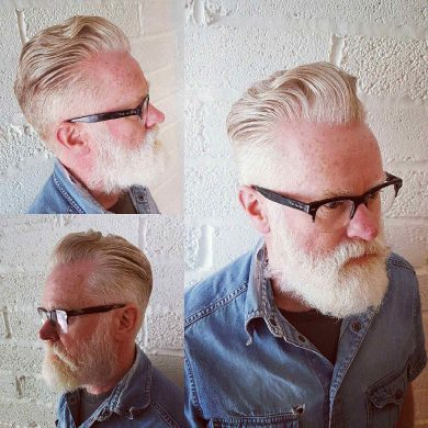 franco's barbering lounge  men's haircut of the month in