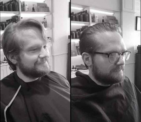 short back and sides with beard groom for men  in Bristol from Franco's Barbering Lounge
