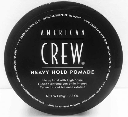 American Crew Heavy Hold Pomade men's hair products in Bristol at Franco's Barbering Lounge