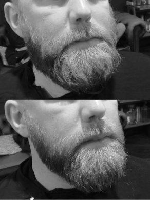 beard trimming in Brisotl at Franco's Barbering Lounge