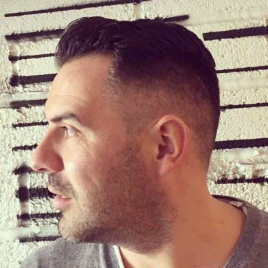 skin fade haircut in Bristol at Franco's Barbering Lounge