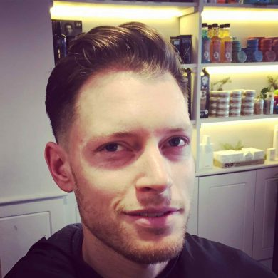 Cool Cat haircut for men in Bristol from Franco's Barbering Lounge