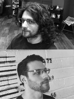 Mne's hair restyling in Bristol at Franco's Barbering Lounge