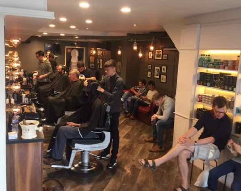 barbers required at gloucester road men's hair salon Franco's Barbering Lounge
