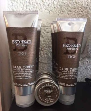 male grooming products in Bristol TIGI B for Men ar Franco's Barbering Lounge