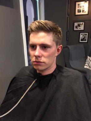 wedding hairstyling for men in Bristol from Franco's Barbering Lounge