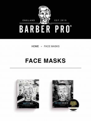 face mask treatments for men in Bristol at Franco's Barbering Lounge