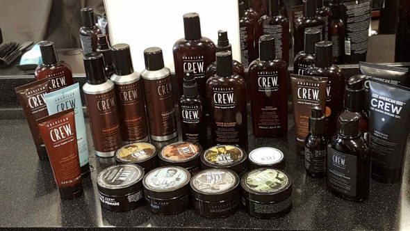 American Crew hair products for men in Bristol at Franco's Barbering Lounge