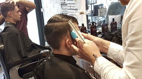 Bristol barbering training in Bristol with American Crew at Franco's Barbering Lounge