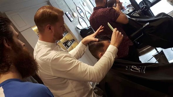 Barbering training in Bristol at Franco's Barbering Lounge