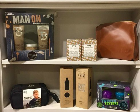 Christmas hair product gifts for men in Bristol at Franco's Barbering Lounge