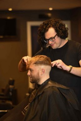 Men's hairstyling in bristol for 2018 at Franco's Barbering Lounge