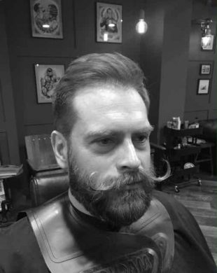 Beard shaping in Bristol for 2018 from Franco's Barbering Lounge