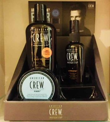 American Crew men's hair products in Bristol at Franco's Barbering Lounge