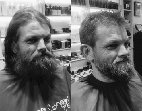 hair beard restyle for men in bristol at Franco's Barbering Lounge