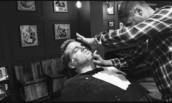 Shaving and male grooming services in Bristol at Franco's Barbering Lounge