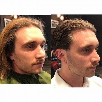 Spring hair restyling for men in Bristol
