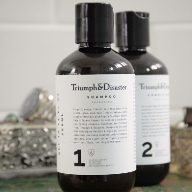 Triumph and Disaster Shampoo in Bristol at Franco's Barbering Lounge