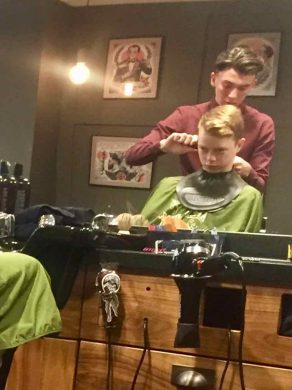 mens haircut discounts Gloucester Road September