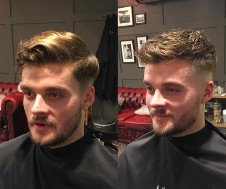 Winter haircut for men Bristol Low Skin Fade