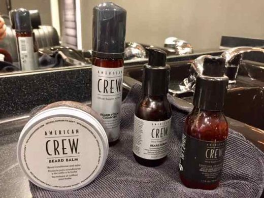 beard grooming products Gloucester Road salon