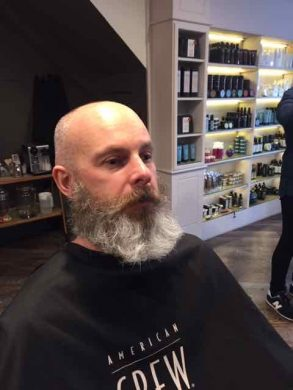 Beard shaping in Bristol at Franco's Barbering Lounge