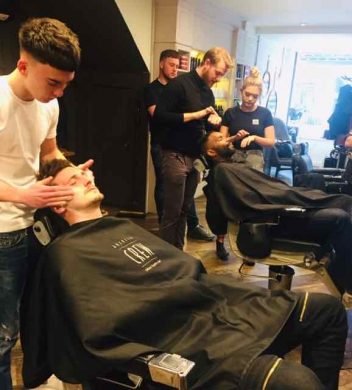 Gloucester Road barbers in Bristol