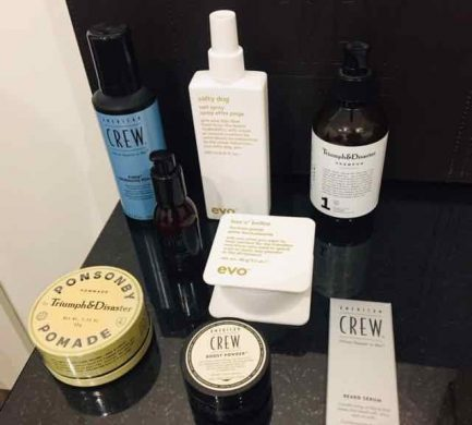 Men's hair and grooming products in Bristol