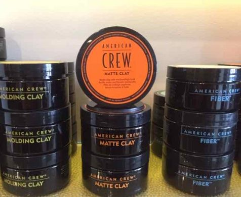 men's hair product Gloucester Road Bristol barbers American Crew Matte Clay