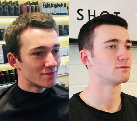 perfect Christmas haircut for men Bristol