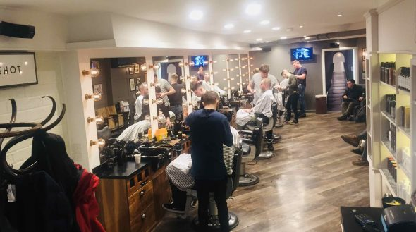 best barber salon Gloucester Road
