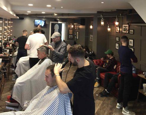barber salon Gloucester Road