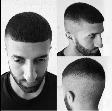 French Crop Haircut for men Bristol