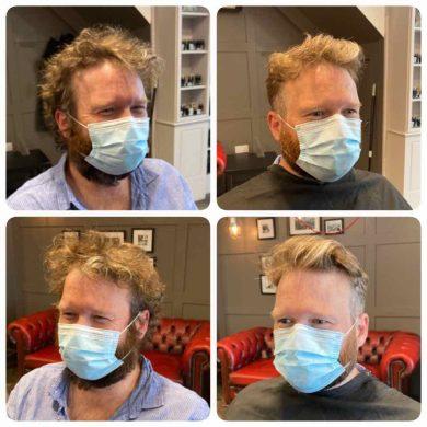 hairstyle trends for men Bristol post-lockdown