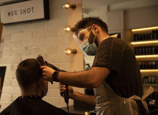 men's hairstyle ideas after Bristol lockdown