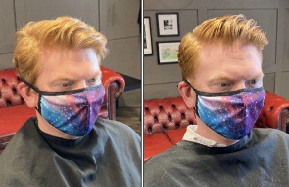 how to get brilliant mens' haircut Summer Bristol